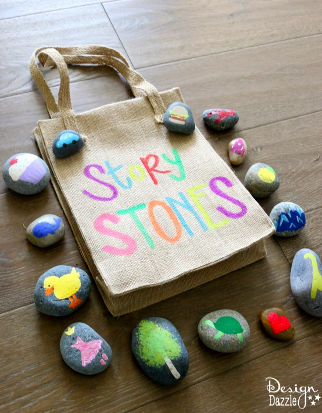Story Stones | 25+ MORE Summer Crafts for Kids