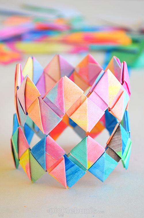 paper bracelets | 25+ MORE Summer Crafts for Kids