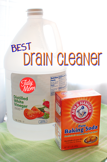 Homemade Drain Cleaner | 25+ Ways To Use Baking Soda