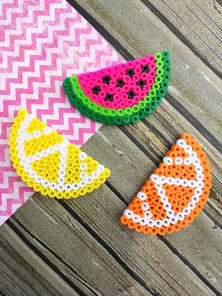 25 more summer crafts for kids nobiggie for Bead craft for kids