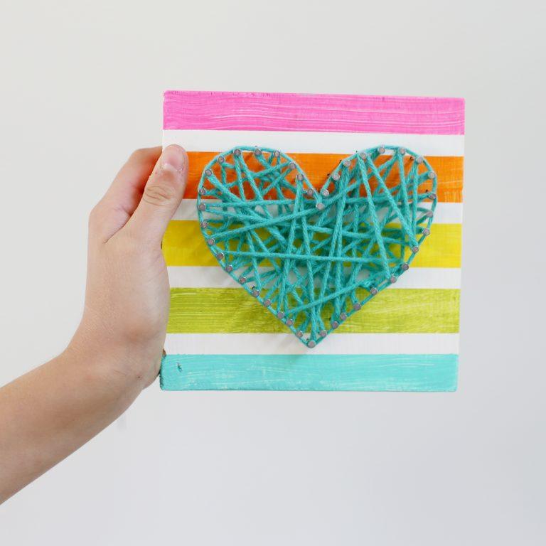 String Art | 25+ MORE Summer Crafts for Kids