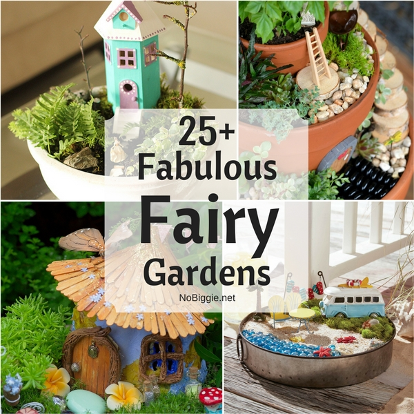 25+ Fabulous Fairy Gardens | NoBiggie.net