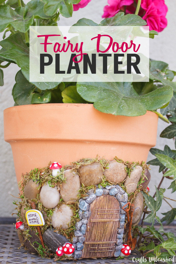 Fairy Door Planter | 25+ Fabulous Fairy Garden