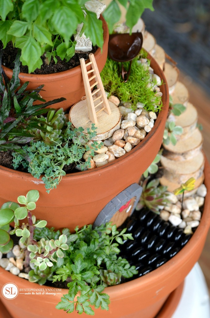 Flower Pot Miniature Fairy Garden | 25+ Fabulous Fairy Garden