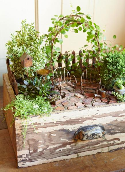 Magical Miniature Garden | 25+ Fabulous Fairy Garden