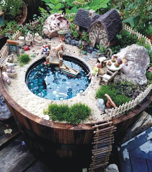 Sand Castle | 25+ Fabulous Fairy Garden