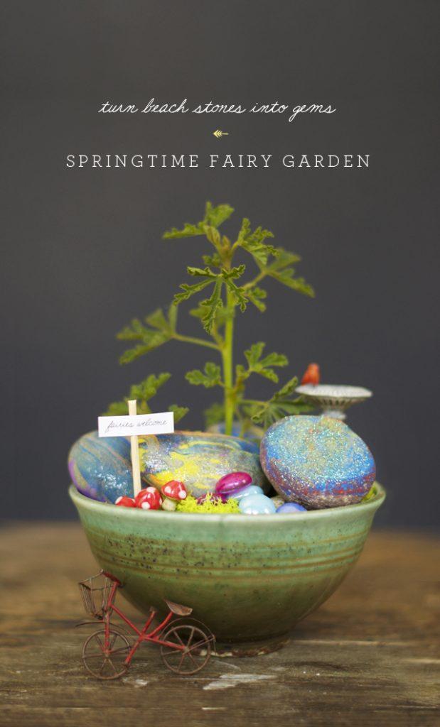 Springtime Fairy Garden | 25+ Fabulous Fairy Garden