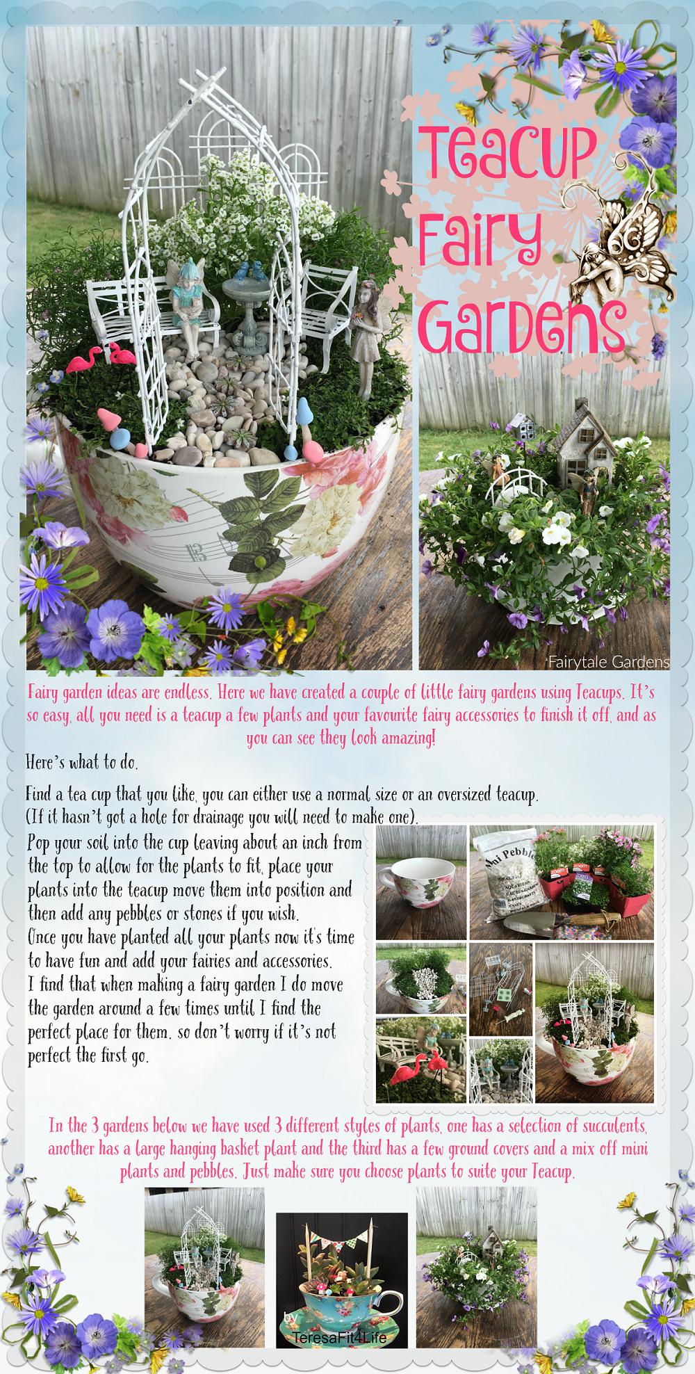 Teacup Fairy Gardens | 25+ Fabulous Fairy Garden