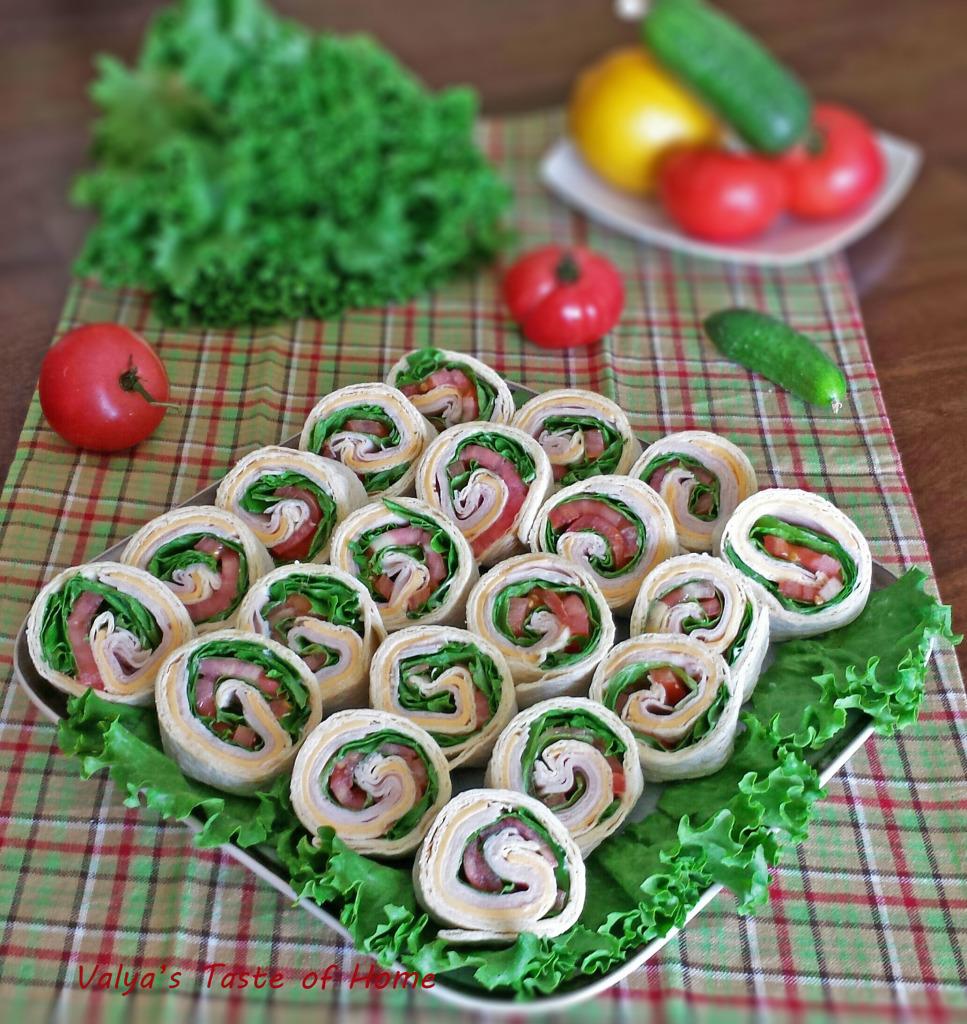 Turkey Pinwheels Appetizers | 25+ Rollups and Pinwheels