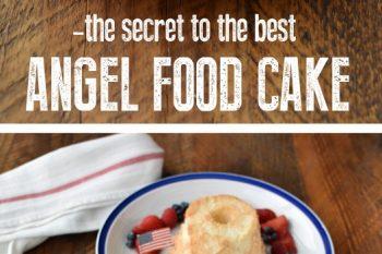 The best Angel Food Cake