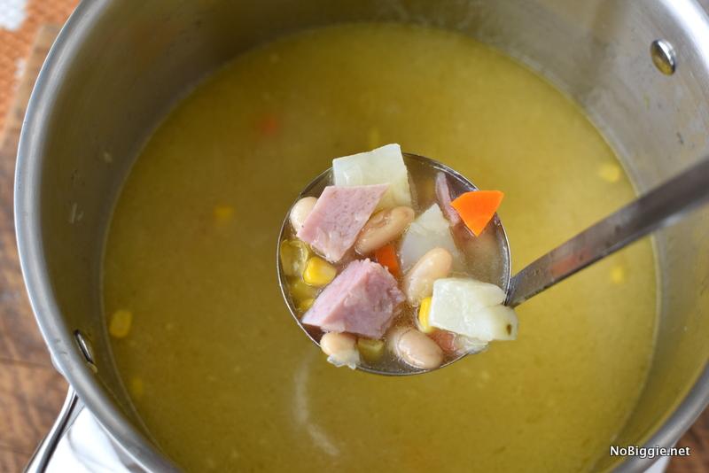 Leftover Ham Bone Soup   NoBiggie.net