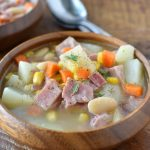 Leftover Ham Bone Soup | NoBiggie.net