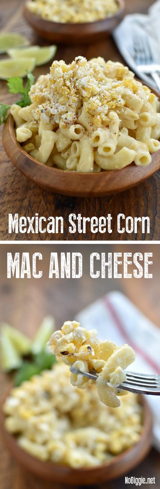 Mexican Street Corn Mac and Cheese | NoBiggie.net