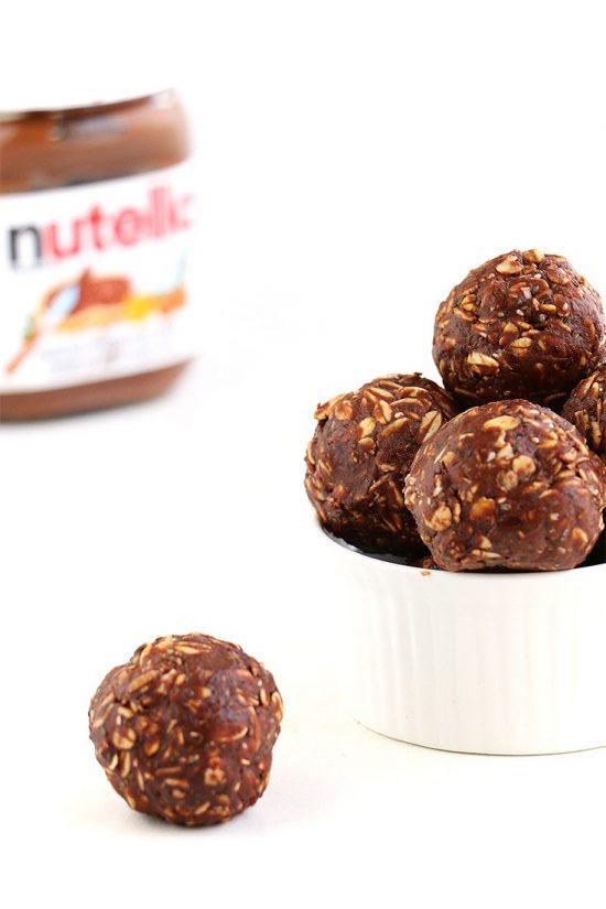 Nutella Chia Energy Balls | 25+ Energy Bites
