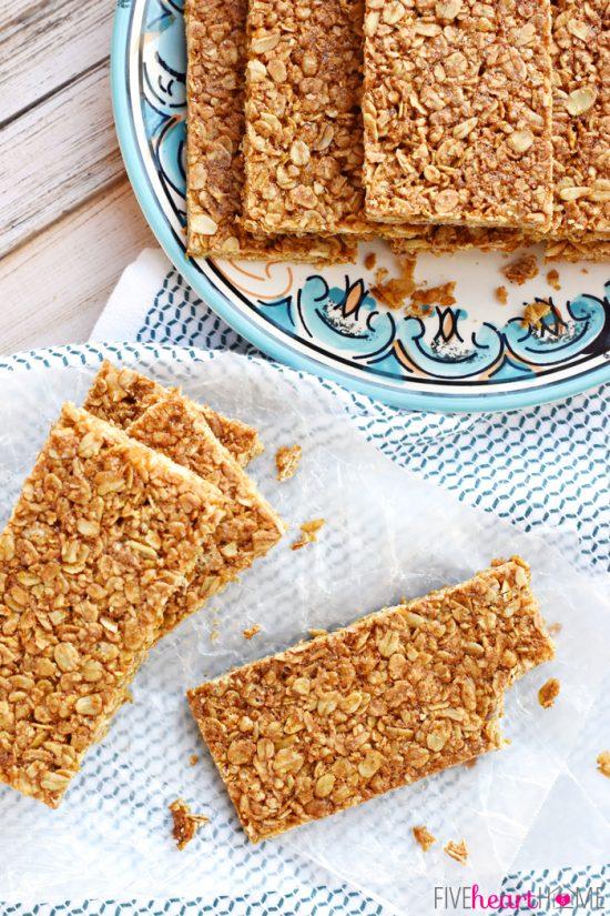 Oats and Honey Granola Bars | 25 + Granola Bars