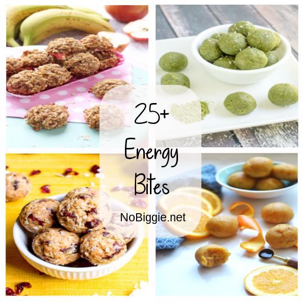 25+ Energy Bites | NoBiggie.net
