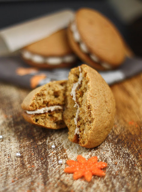 Sweet Potato Whoopie Pies with Maple Marshmallow Creme | 25+ Whoopie Pies