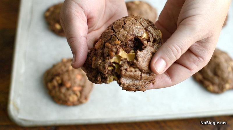 The Ultimate Chocolate Peanut Butter Cookies | NoBiggie.net