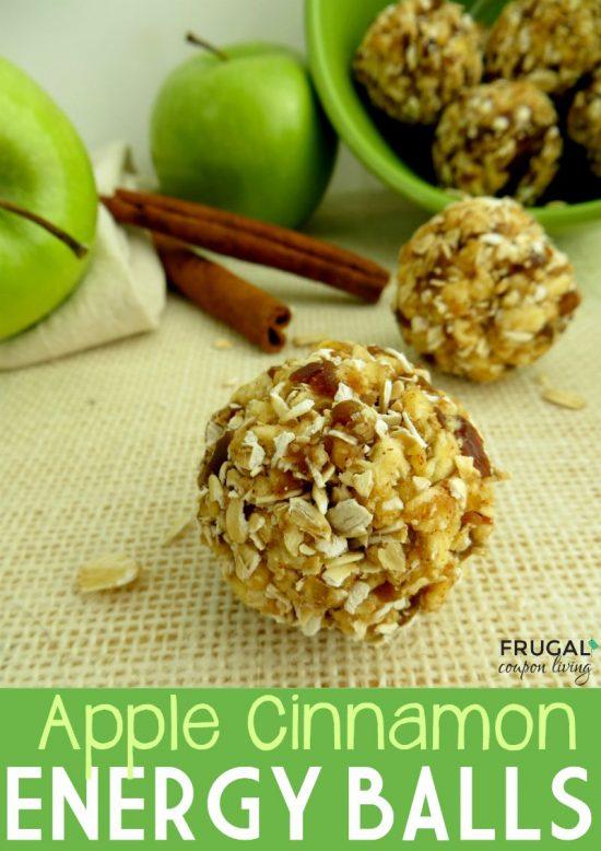 Apple Cinnamon Energy Balls | 25+ Energy Bites