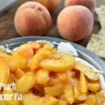 fresh peach soda cracker pie | NoBiggie.net
