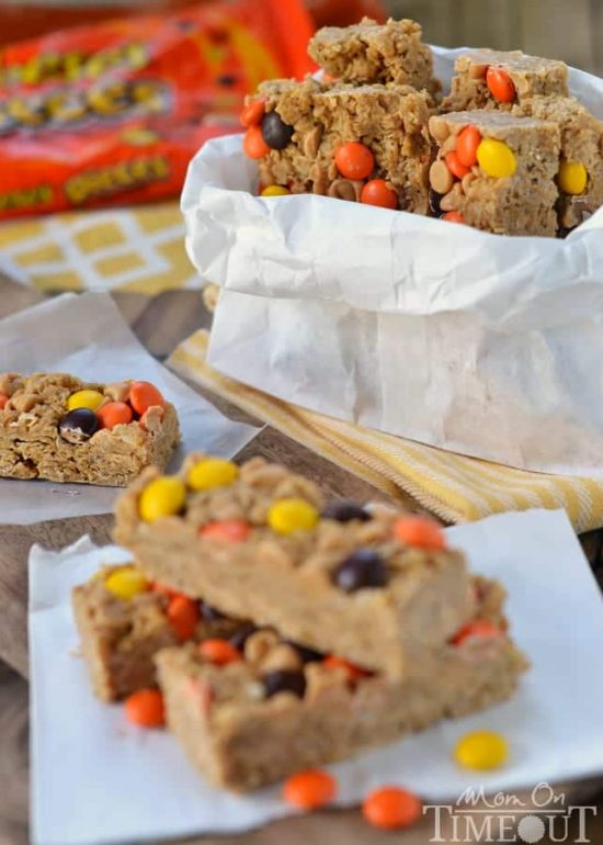 Reeses Peanut Butter Granola Bars | 25+ Granola Bars