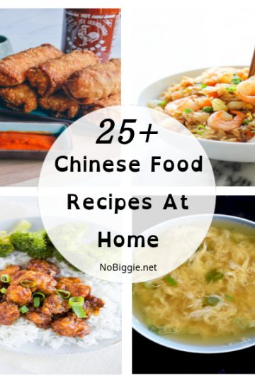 25+ Chinese Food Recipes At Home