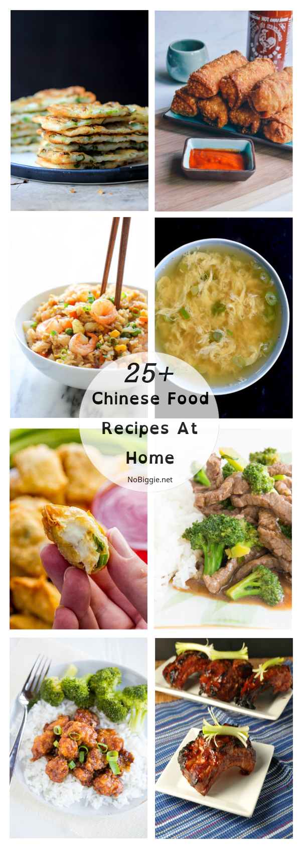 25+ Chinese Food Recipes at Home | NoBiggie.net