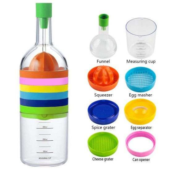 Charmant 8 In 1 Kitchen Bottle Tool Set | 25+ Fun Kitchen Gadgets