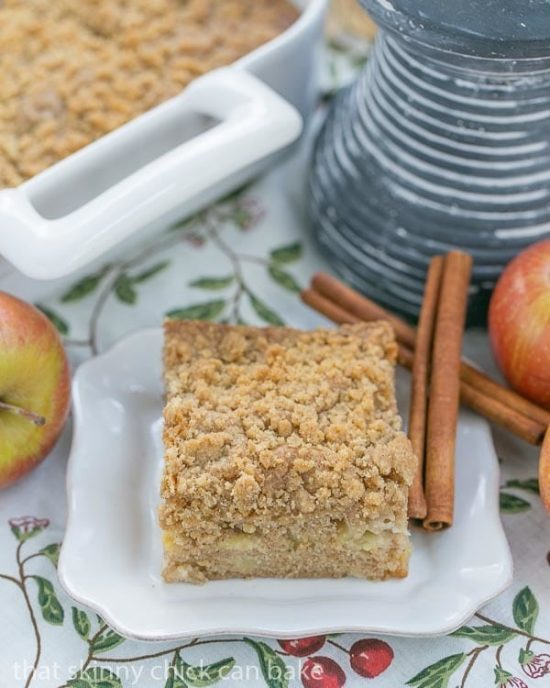 Apple Coffee Cake | 25+ Autumn Apple Recipes