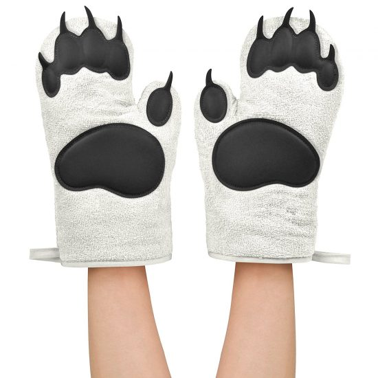 Bear Oven Mitts | 25+ Fun Kitchen Gadgets