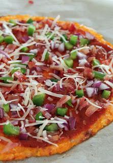 Carrot Crust Pizza | 25+ Creative Pizza Crusts