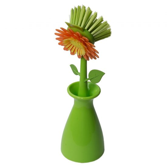 Flower Dish Brush | 25+ Fun Kitchen Gadgets