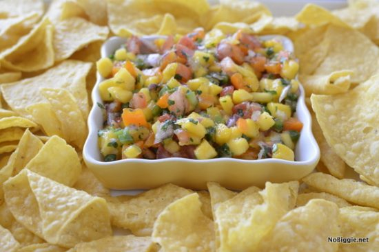Fresh Mango Salsa | 25+ Easy No Cook Appetizers