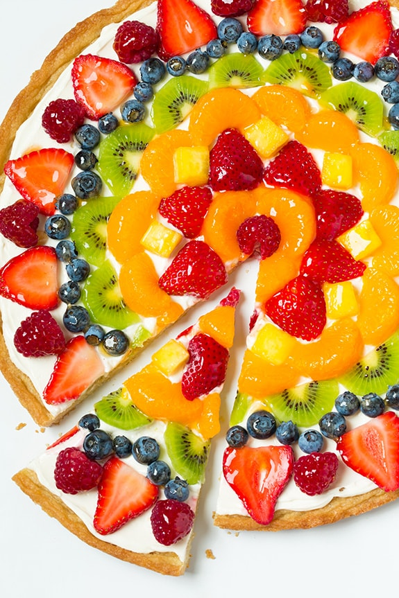 Fruit Pizza | 25+ Dessert Pizzas