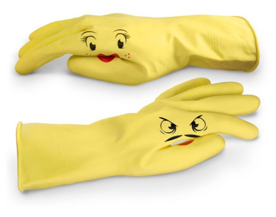 Hand Puppet Dish Gloves | 25+ Fun Kitchen Gadgets
