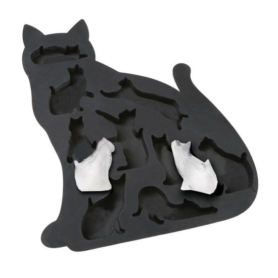 Kitty Shaped Ice Cube Tray | 25+ Fun Kitchen Gadgets