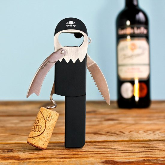 Pirate Bottle Opener | 25+ Fun Kitchen Gadgets