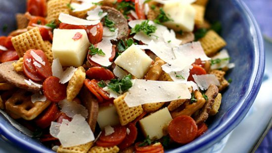 Pizza Chex Mix | 25+ Pizza Everything Recipes