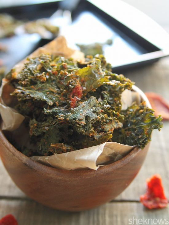 Pizza Kale Chips | 25+ Pizza Everything Recipes