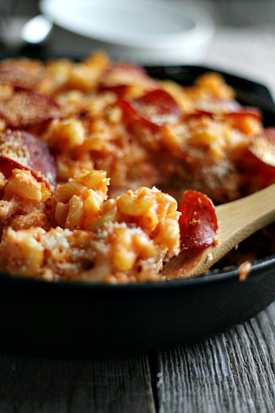 Pizza Mac and Cheese | 25+ Pizza Everything Recipes