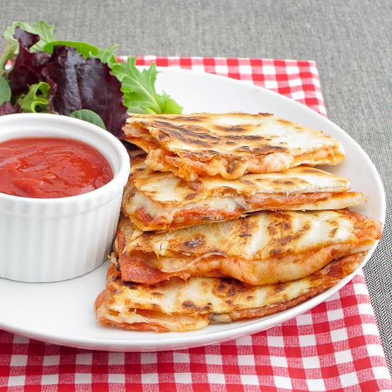 Pizza Quesadilla | 25+ Pizza Everything Recipes