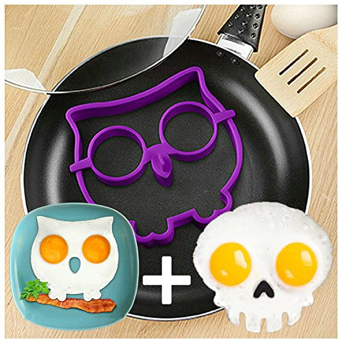 Skull and Owl Egg Shaper | 25+ Fun Kitchen Gadgets