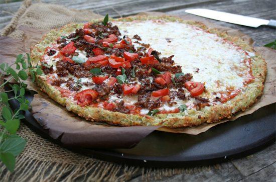 Zuchinni Crust Pizza | 25+ Creative Pizza Crusts