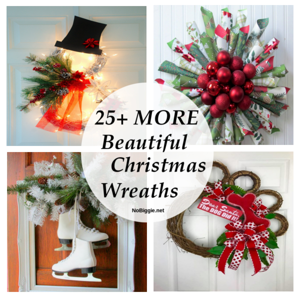 25+ MORE Beautiful Christmas Wreaths | NoBiggie.net