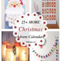 25+ MORE Christmas Advent Calendars