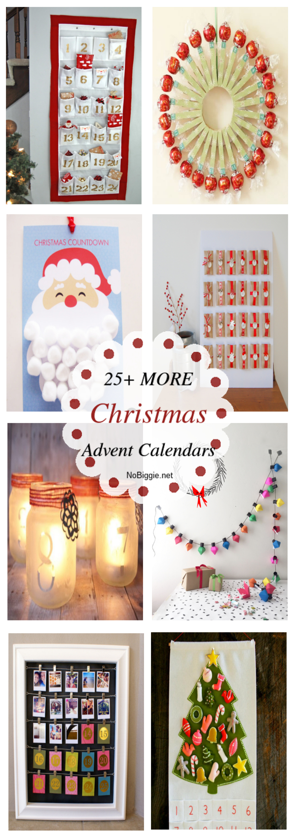 25+ MORE Christmas Advent Calendars | NoBiggie.net