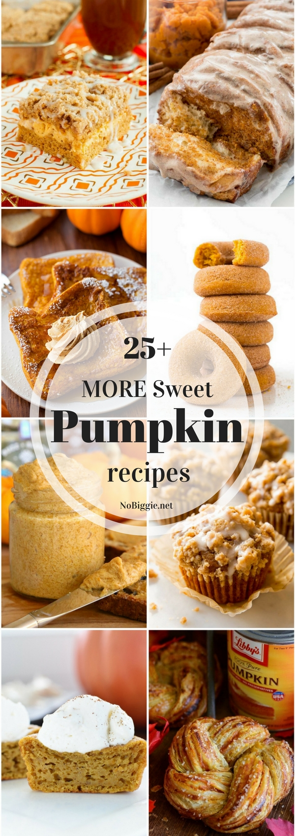 25+ More Sweet Pumpkin Recipes | NoBiggie.net
