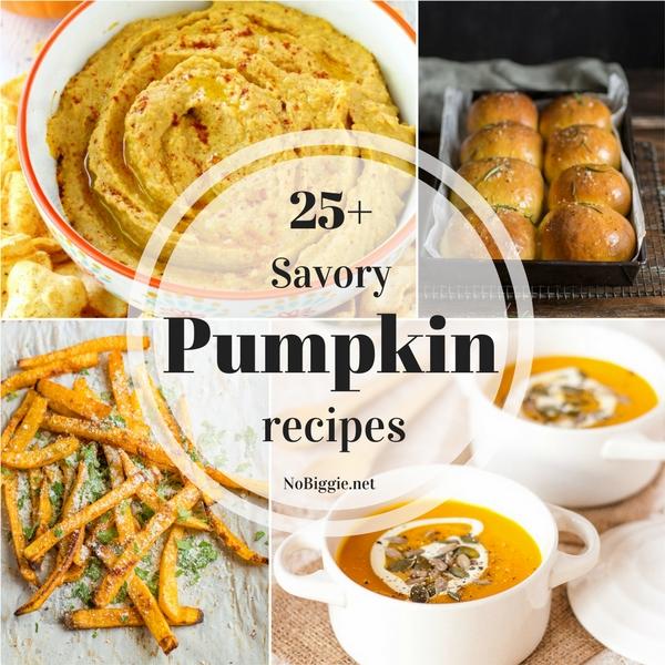 25+ Savory Pumpkin Recipes | NoBiggie.net