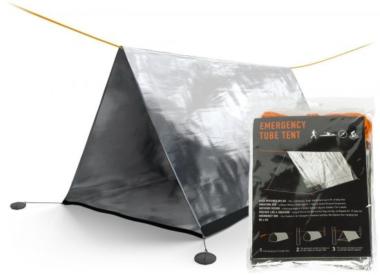 Emergency Tube Tent | 25+ 72 Hour Emergency Kit Items