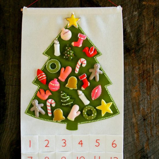 Christmas Tree Advent Calendar | 25+ MORE Christmas Advent Calendars